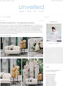 Weddings Unveiled - September 2014