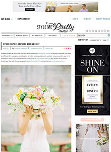 Style Me Pretty - September 2014