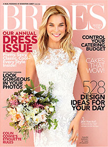 BRIDES MAGAZINE - March 2015