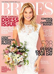 BRIDES MAGAZINE - March 2015