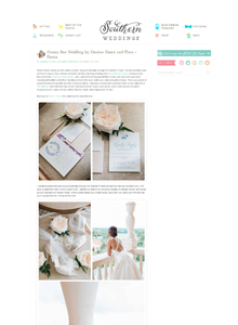 Southern Weddings - March 2015