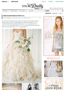 Style Me Pretty - May 2014