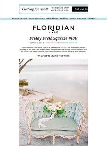 Floridian Weddings - March 2014