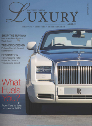 South Florida Luxury Guide - September 2012