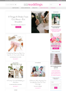 MARTHA STEWART WEDDINGS - March  2015
