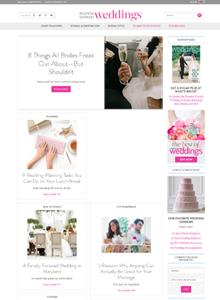 MARTHA STEWART WEDDINGS - March  2015