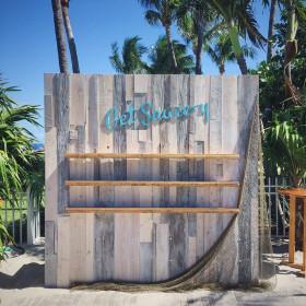 Corporate Event - Hampton Wall, Fishing Net - The Ritz - Key Biscayne FL (1)
