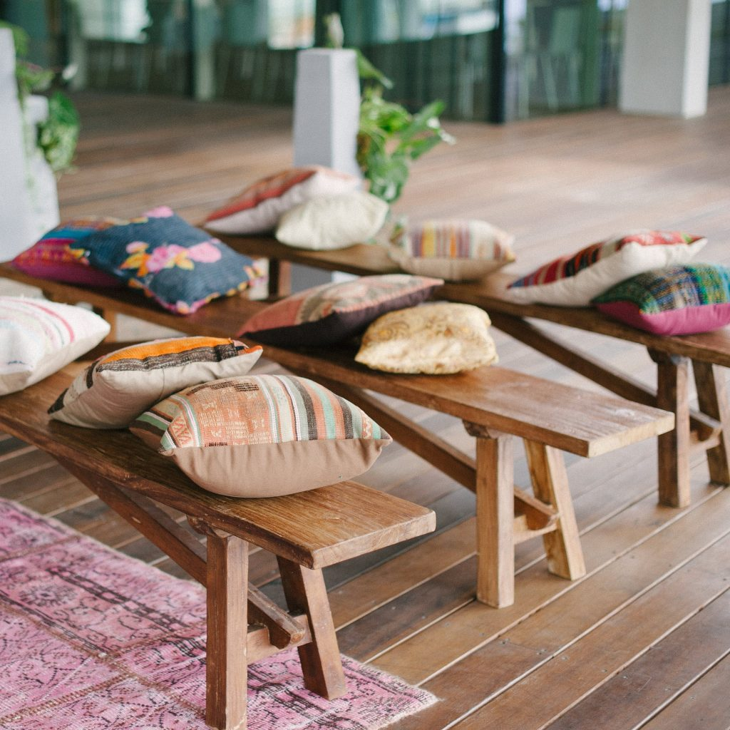 chairs + stools + benches