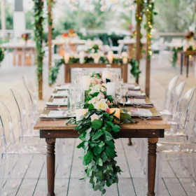 Wedding - Farmhouse Table, Arbor - Perez Art Museum - Miami FL (1)