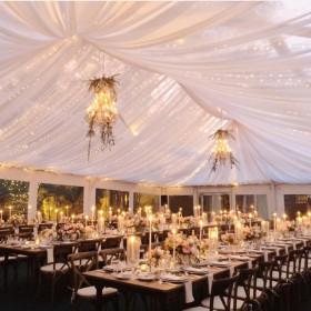 Wedding - Farmhouse Table, Tuscan Chairs - Villa Woodbine - Coconut Grove FL (4)