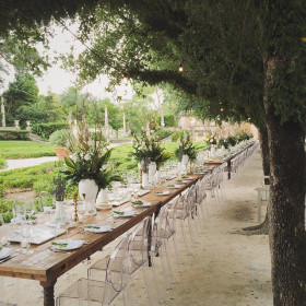 Wedding - Farmhouse Tables - Vizcaya - Miami FL (2)