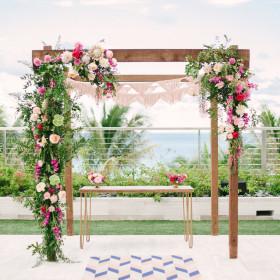 Wedding - Katie Lopez Photography - Arbor, Ezra Sweetheart Table - The Edition Hotel - Miami Beach FL