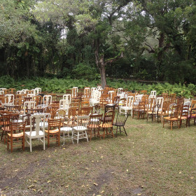 Wedding - Mismatched Chairs - Villa Woodbine - Coconut Grove FL (3)