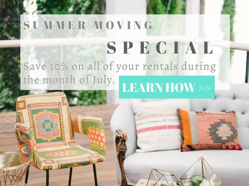 Summer Moving Special - Square