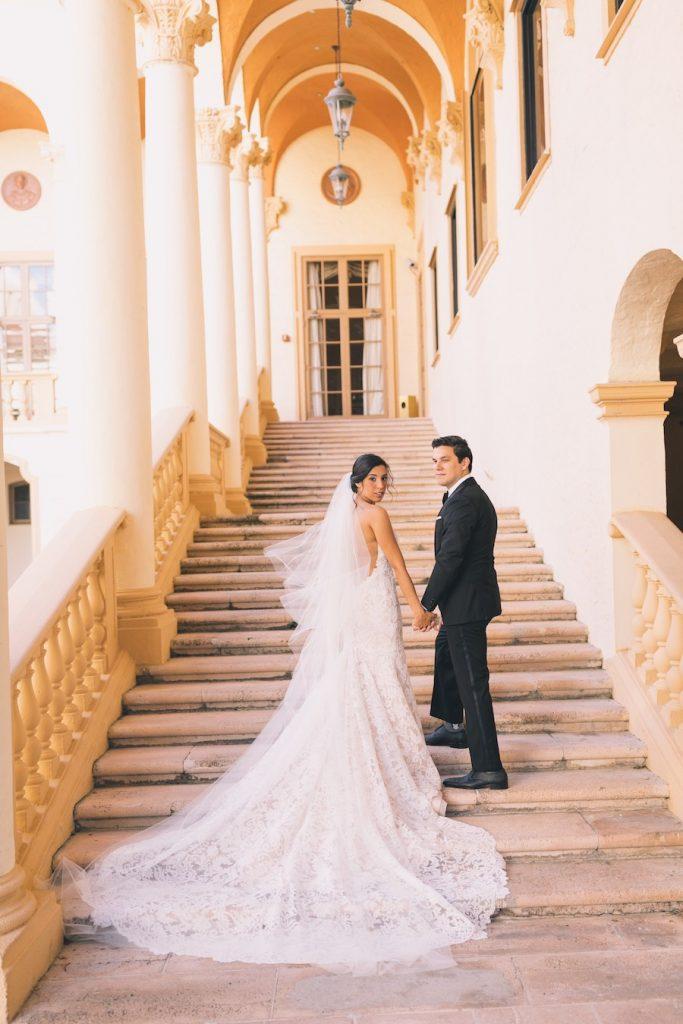 Elegant Real Wedding with Lush Backyard Reception - June 2018